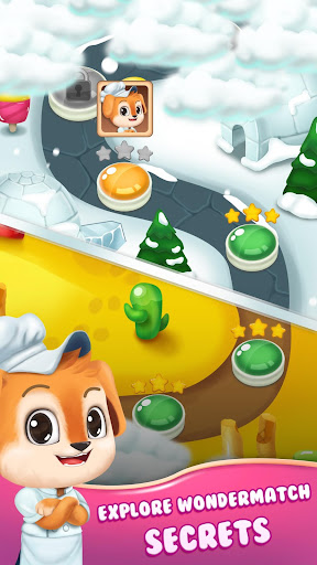 Cake Crush Link Match 3 Puzzle Game 1.1.0 screenshots 2