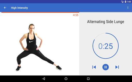HIIT & Cardio Workout by Fitify 1.6.5 Screenshots 7