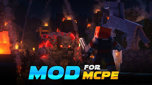 Mods for Minecraft PE by Friday screenshots 12
