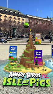 Angry Birds AR: Isle of Pigs Screenshot