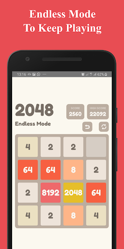 Number Puzzle:  2048 Puzzle Game 2.7.5 screenshots 9