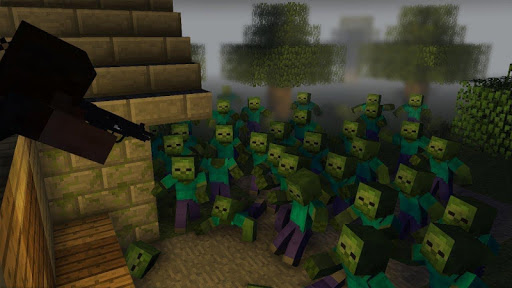 Zombie Apocalypse map for MCPE. New maps and mods  screenshots 2