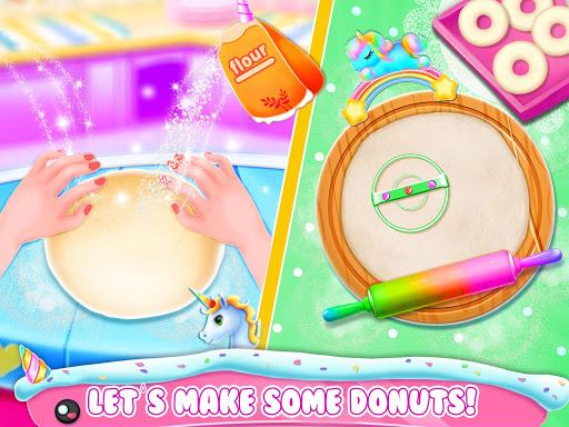 Unicorn Donut Maker: Dessert Cooking Mania  Screenshots 8