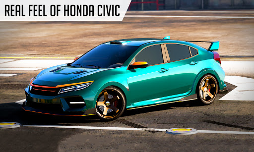 Drifting Car Simulator Civic - Real Car Drifting Apkfinish screenshots 5