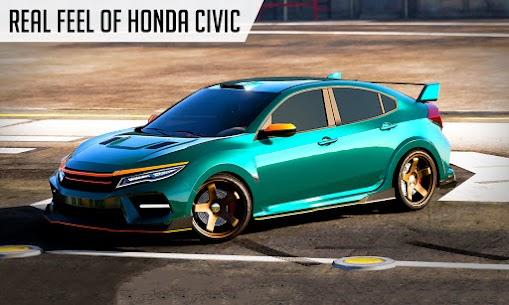 Drifting Car Simulator Civic – Real Car Drifting Mod Apk 1.28 (Free Shopping) 5