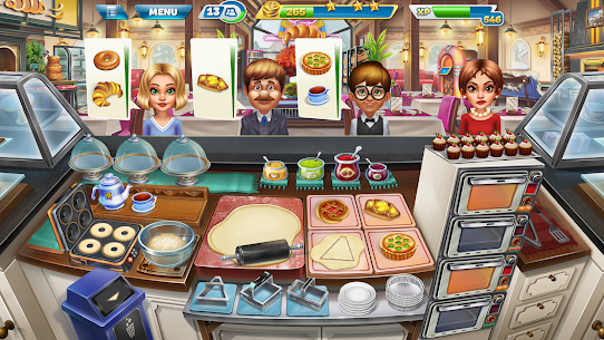 Cooking Fever MOD (Unlimited Coins/Gems) 7