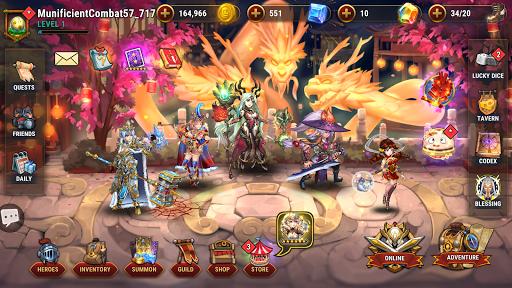 Fantasy League: Turn-based RPG strategy 1.0.210122 screenshots 8