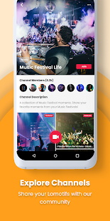 Lomotif - Social Video Communities Screenshot