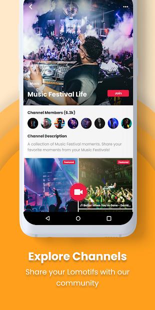 Lomotif - Social Video Communities screenshot 1