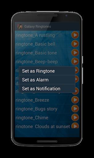 galaxy ringtones screenshot 2