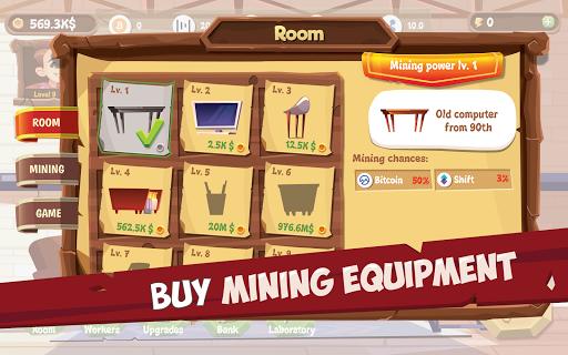 Bitcoin Mining Simulator - Idle Clicker Tycoon 3.5.8 screenshots 11