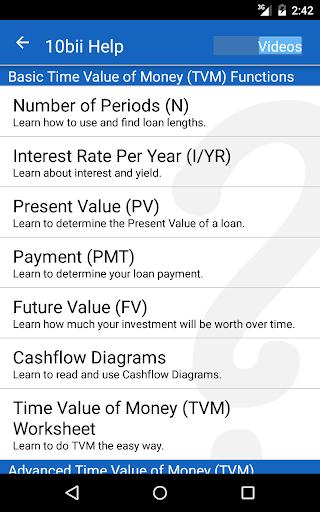 10bii Financial Calculator  screenshots 12
