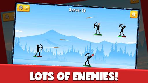 Code Triche Stickman Archer: Arrow Stick Fight (Astuce) APK MOD screenshots 1