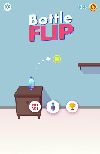 Bottle Flip Era: Fun 3D Bottle Flip Challenge Game apktram screenshots 1
