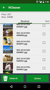 WCleaner for WA Screenshot