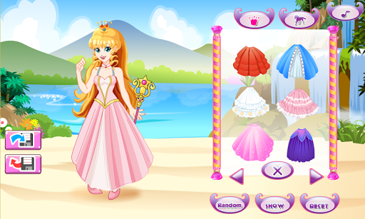 White Horse Princess Dress Up 5.0.640 screenshots 1