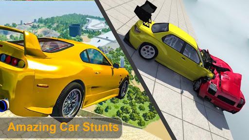 Beam Drive Crash Death Stair Car Crash Simulator 1.0 screenshots 4