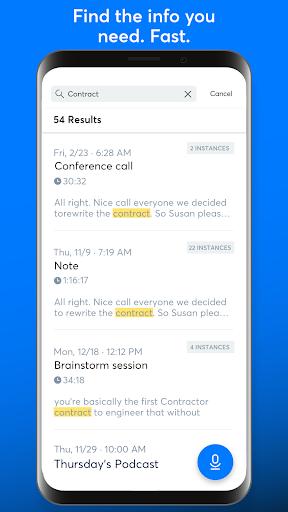 Otter: Meeting Note, Transcription, Voice Recorder  screenshots 5