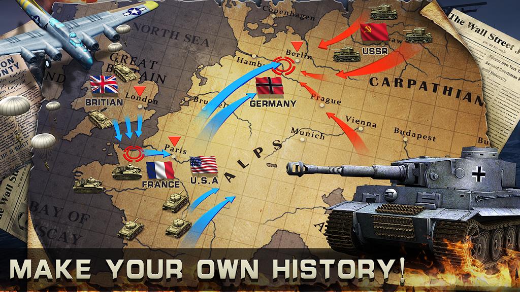 World War 2: Strategy Games WW2 Sandbox Simulator  poster 3