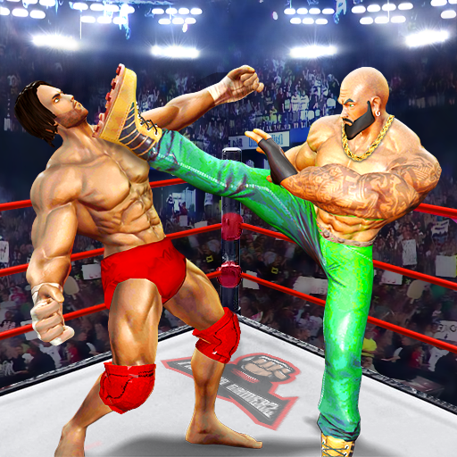 BodyBuilder Ring Fighting Club: Wrestling Games APK