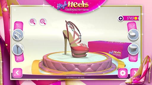 High Heels Designer Girl Games  screenshots 1