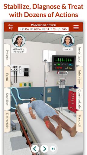Télécharger gratuit Full Code - Emergency Medicine Simulation APK MOD 2