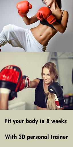 Kickboxing Fitness Trainer - Lose Weight At Home  Screenshots 2