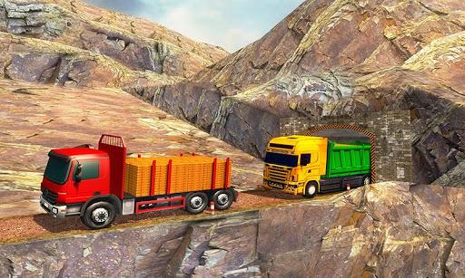 Uphill Gold Transporter Truck Drive  screenshots 1