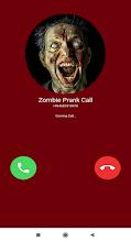 Fake Call Zombie - Prank Video Call screenshot thumbnail