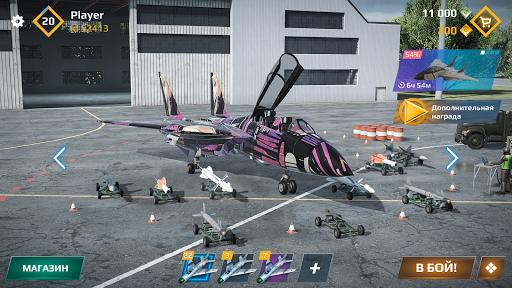 Sky Combat: Avions De Guerre APK MOD (Astuce) screenshots 4