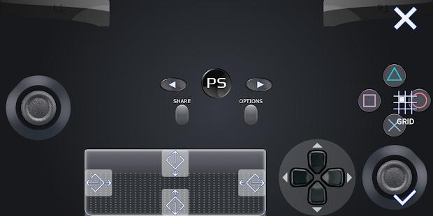 PSPad: Mobile PS4 Dualshock Gamepad
