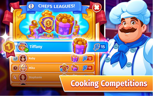 Cooking Craze: The Worldwide Kitchen Cooking Game 1.66.0 Screenshots 15