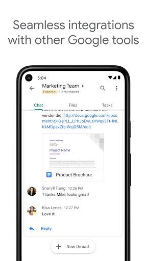 Google Chat apktram screenshots 3