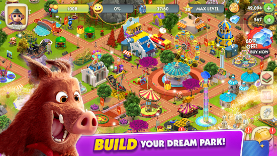 Wonder Park Magic Rides & Attractions Screenshot