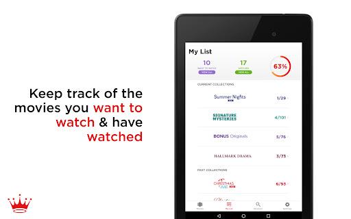 Hallmark Movie Checklist android2mod screenshots 14