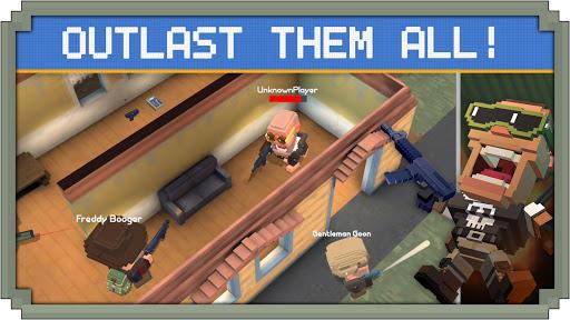 Télécharger gratuit Guns Royale - Multiplayer Blocky Battle Royale APK MOD 1