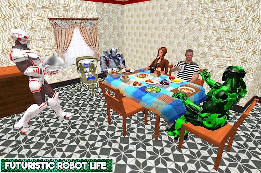 Robotic Family Fun Simulator apkpoly screenshots 5