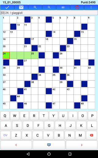 Best Italian Crossword Puzzles - Advanced Level 10.1 Screenshots 19