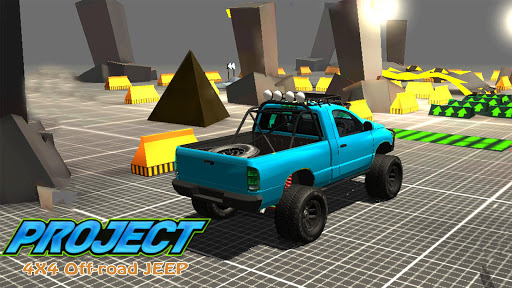 Project 4x4 Offroad: Offroad Xtreme Rally Project  screenshots 2