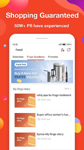 Fingo - Online Shopping Mall & Cashback Official 3.1.80 Screenshots 3