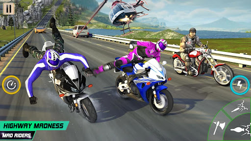 Highway Death Moto- New Bike Attack Race Game 3D  screenshots 4