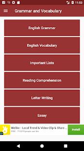 English Grammar&Vocabulary Book Offline - Free App