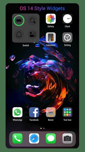 OS14 Launcher, Control Center, App Library i OS14  Screenshots 1