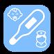 シンプル体温管理 家族の体温管理が簡単にできる - Androidアプリ