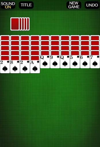 Spider Solitaire [card game] screenshots 1