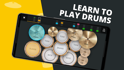 SUPER DRUM - Play Drum! android2mod screenshots 2