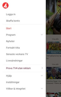 TV4 Play Screenshot