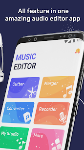 Audio editor – Voice recorder & Music editor For Android 2