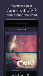 Within VR – Cinematic Virtual Reality 1