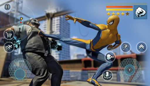 Spider Rope Gangster Hero Vegas - Rope Hero Game 1.1.9 screenshots 4